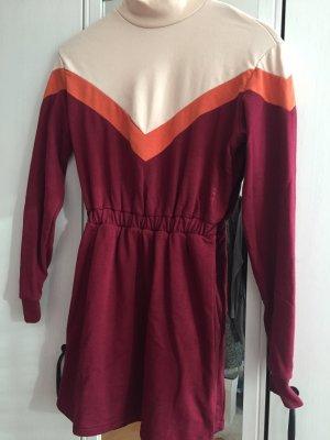 Bershka Abito maglione multicolore