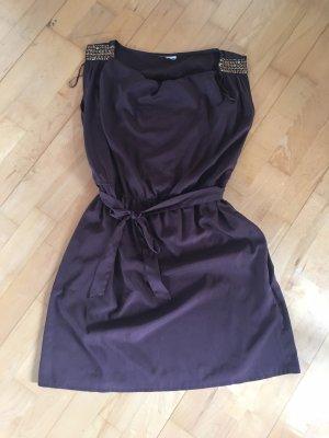C&A Mini Dress dark brown