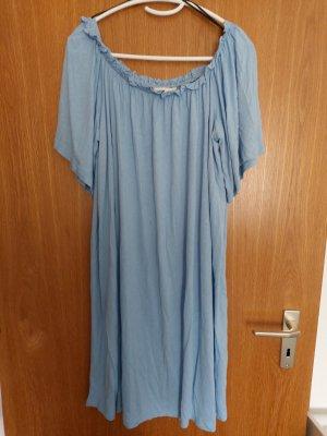 H&M Off-The-Shoulder Dress azure