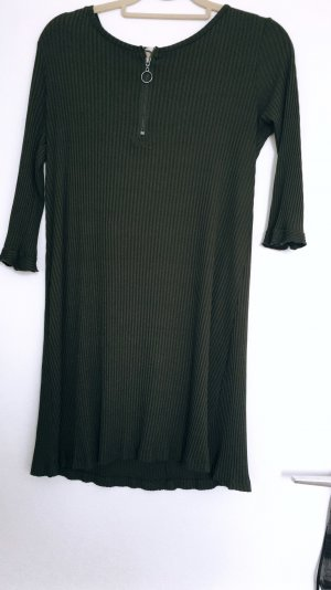 Clockhouse Shirtwaist dress green grey-dark green