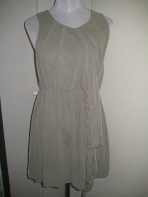 Kleid Chiffon Olive Gr.40