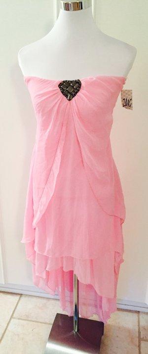 Kleid Chiffonkleid aus Italien Größe S/M