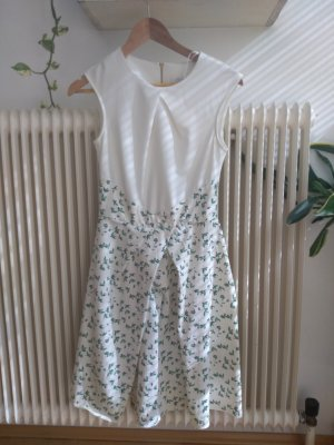 Closet Dress white-green