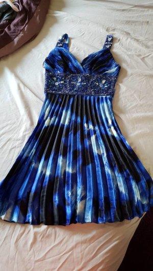 Paraf Robe à paillettes noir-bleu