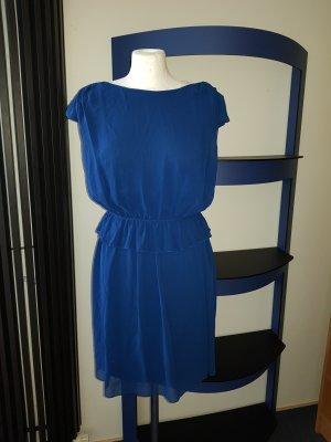 Kleid Cocktailkleid Minikleid Sommerkleid casual w.Neu Skater Vila  Gr L 40 Blau
