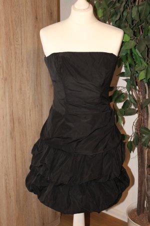 Kleid Cocktailkleid schwarz trägerlos Marie Blanc Größe 34