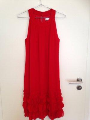 Kleid/Cocktailkleid von St.EMILE,rot, Sommer, Gr..40