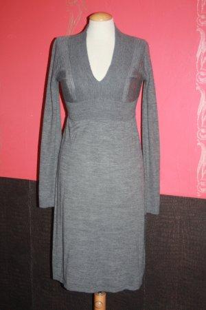 Kleid Comma 36 grau zartes Strickkleid