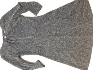 Kleid Comma grau meliert