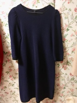 COS Longsleeve Dress dark blue-slate-gray
