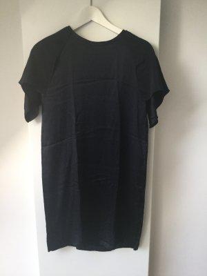 Kleid COS, nachtblau, reine Seide