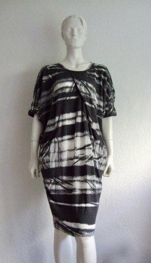 Kleid Cotton Candy Weis Grau New M
