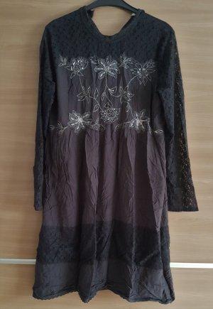 Kleid Cream Gr. 46 in Grau #276