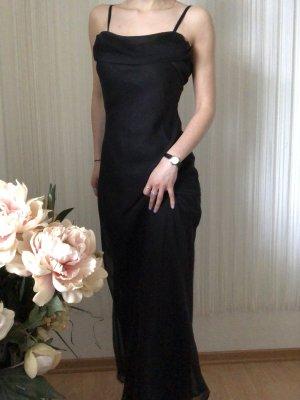 FFY Vestido largo negro