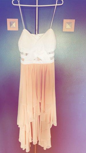 b.p.c. Bonprix Collection Evening Dress apricot-white