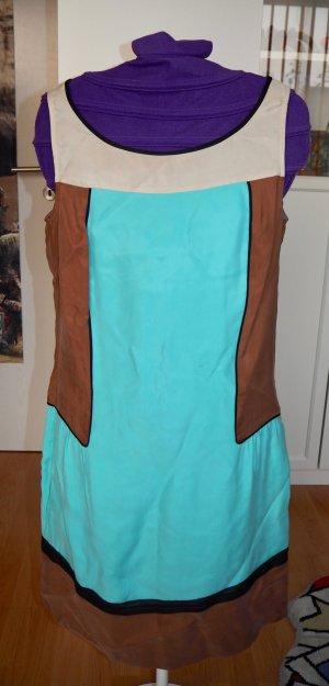 Kleid Damen Stefanel bunt M 38