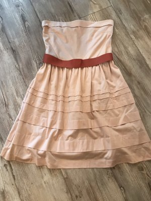 Mango Corsage Dress pink