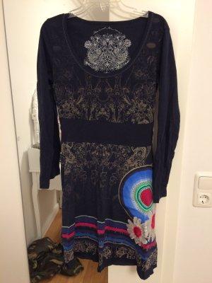 Kleid Desigual Größe M Blau Ungetragen Original