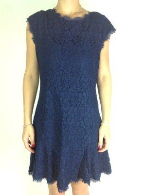 Kleid Diane von Fürstenberg blau Gr. 36