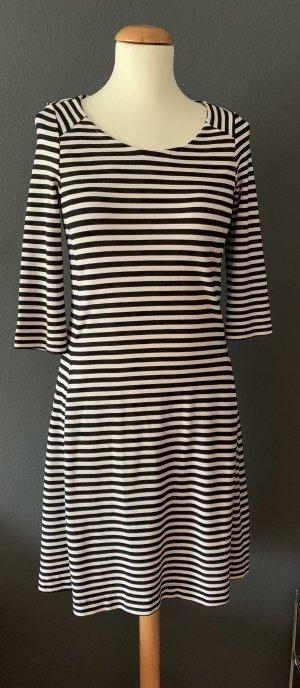 Kleid Didi Holland schwarz weiß Streifen