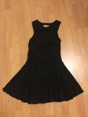 Kleid dress spitze schwarz von asos Petit