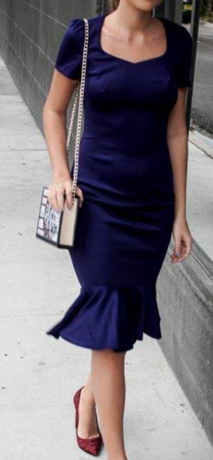 Kleid dunkelblau 34/36