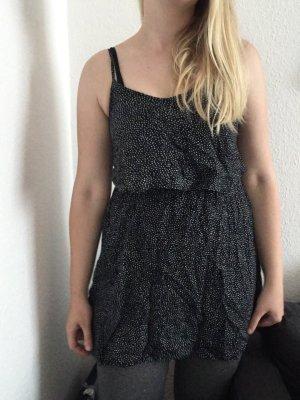 Kleid dunkelblau mit weißen Punkten von h&m neu ungetragen gr. 38 m