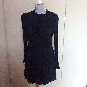 Kleid dunkelblau Schleife