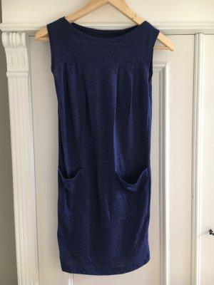 Kleid dunkelblau von American apparel