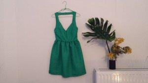 Kleid dunkelgrün, eng