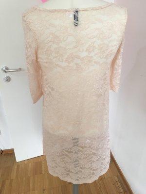 H&M Babydoll-jurk licht beige