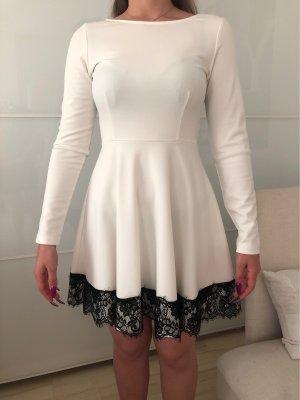 10 FEET Evening Dress black-white