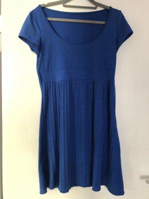 Vestido corte imperio azul