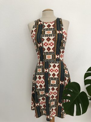 H&M Stretch Dress multicolored polyester