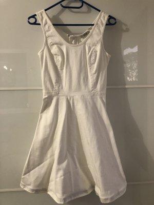 Calvin Klein Denim Dress white cotton
