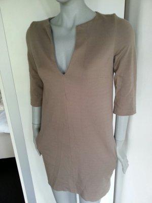 Kleid Eggshape Cocoon Oversize COS zara mango h&m seitliche Taschen XS 34 S 36 cleanchic
