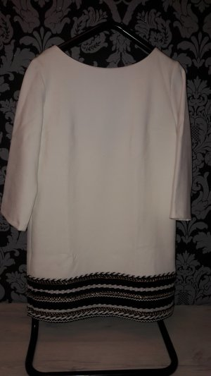 Stella Luna Tunic Dress white-black wool