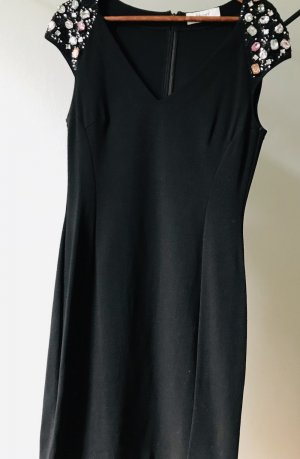 Kleid, eng, schwarz, Blugirl (by Blumarine), Gr. 40 (ital.46), edel mit Steinen