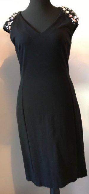 Blugirl Blumarine Mini Dress black viscose