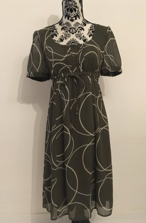 Esprit Babydoll-jurk olijfgroen-khaki