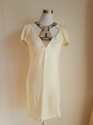 Kleid - Ethikleid mit Applikationen - Grösse S - 36