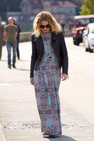 Kleid | Ethno-Muster