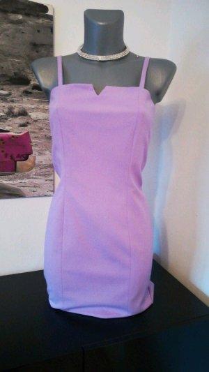 Kleid Etui Kleid von Heine Kollektion Größe 34 XS Flieder figurbetont business