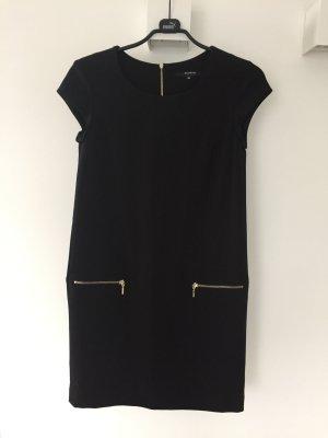 Kleid Etui mit goldenen Reißverschlüssen Gr.36