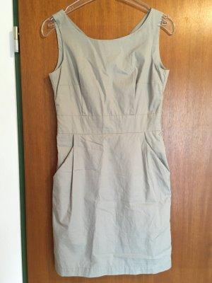 Kleid Etuikleid beige sexy Business Gr. 36 TOP Silvesterkleid
