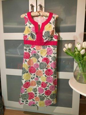 Kleid Etuikleid Boden Blumen NEU