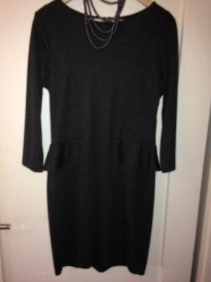Kleid Etuikleid mit Schößchen Gr 42