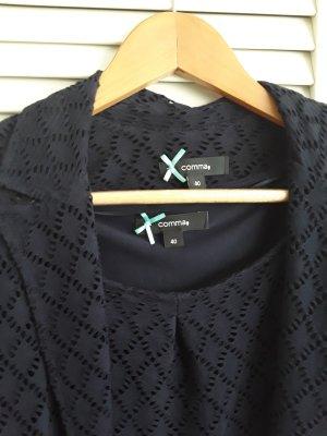 Kleid Etuikleid Sommerkleid mit passender Jacke von Comma 40
