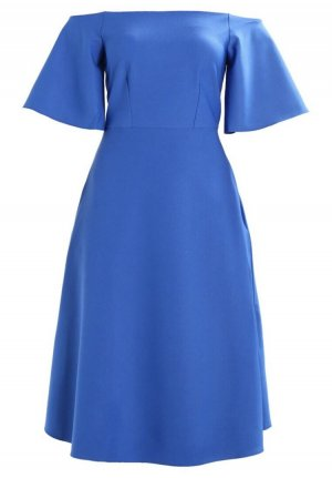 Closet A Line Dress blue