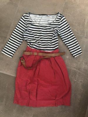 Zara Basic Babydoll-jurk veelkleurig